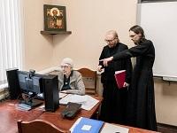 В Сретенской семинарии провели первые занятия онлайн